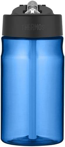 Thermos Hydration Bottle with Straw Blue - 355ml